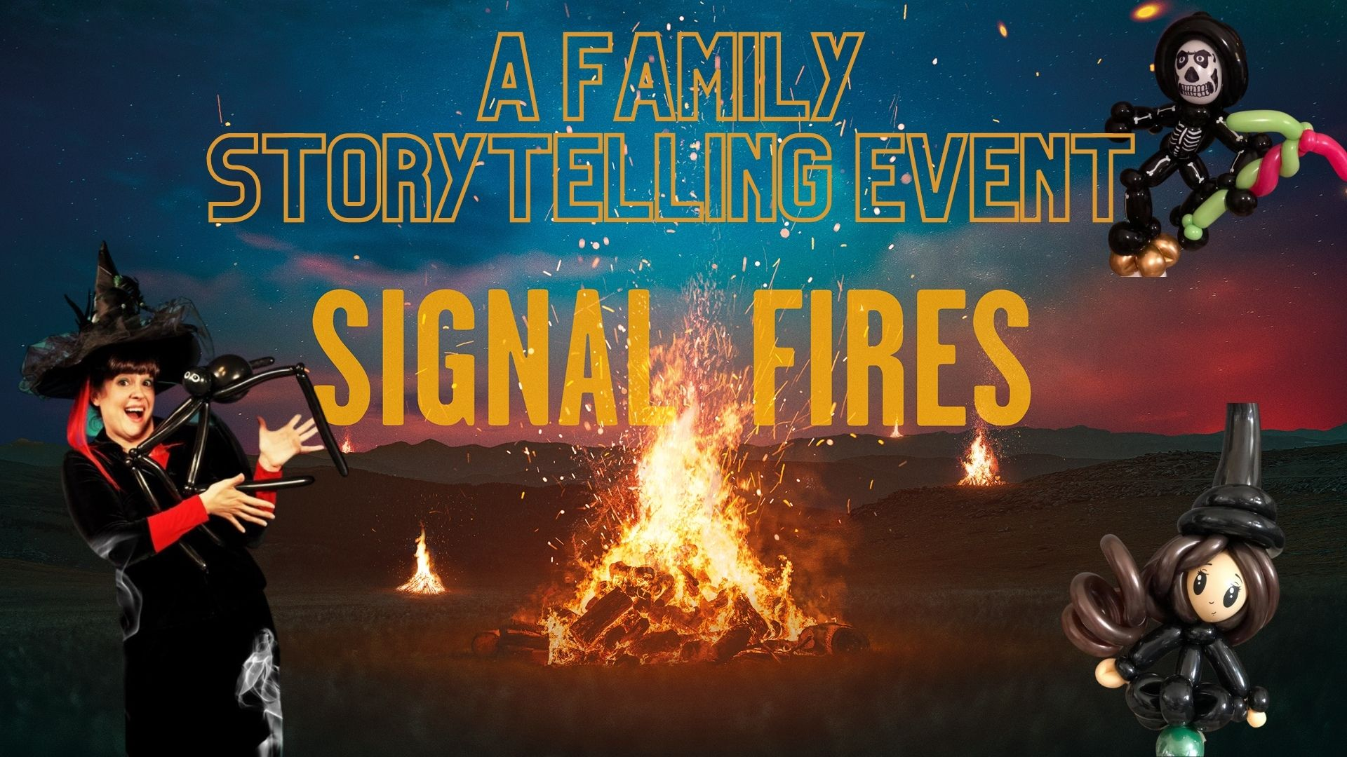 Signals Fires Spooky Shed
